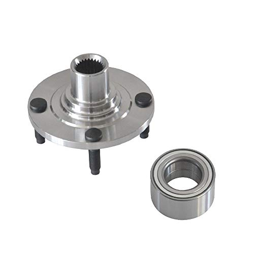 DRIVESTAR 513058+F68Z1104AA New Front Left or Right Wheel Hub & Bearing Assembly for 95-98 Ford ()