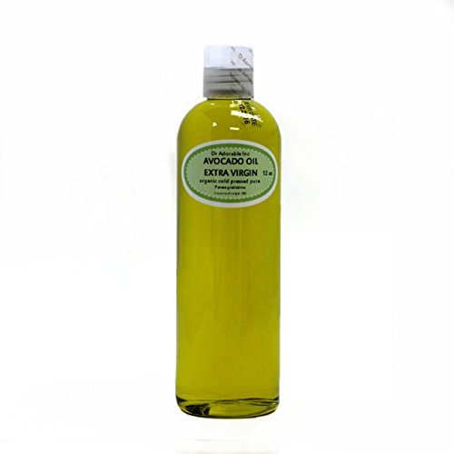 12 OZ PREMIUM AVOCADO OIL EXTRA VIRGIN RAW UNREFINED ORGANIC COLD PRESSED by Dr Adorable