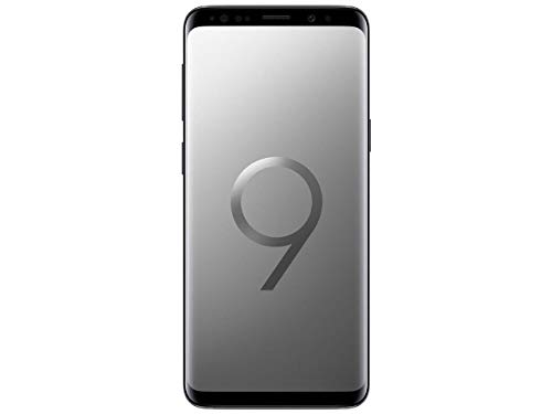 Samsung Galaxy S9 SM-G9600 Dual Sim 5.8in, Super AMOLED, 64GB ,4 GB RAM Factory Unlocked - No Warranty Titanium Gray (Renewed)