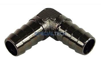 3//8 Messing 10mm black nickel Y Schlauchverbinder