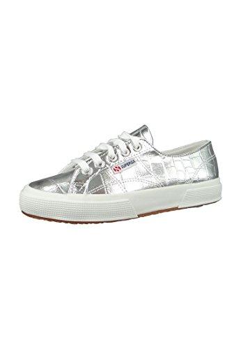 Superga 2750 Metcrocw Grey Silver Silver