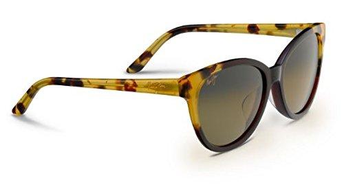 Maui Jim Womens Sunshine Sunglasses (725) Red/Bronze Acetate - Polarized - - Sunglasses Sunshine