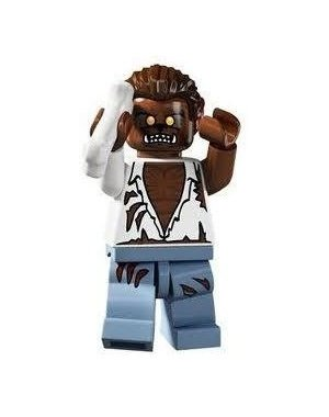 LEGO Series 4 Collectible Minifigure Werewolf (Halloween)]()