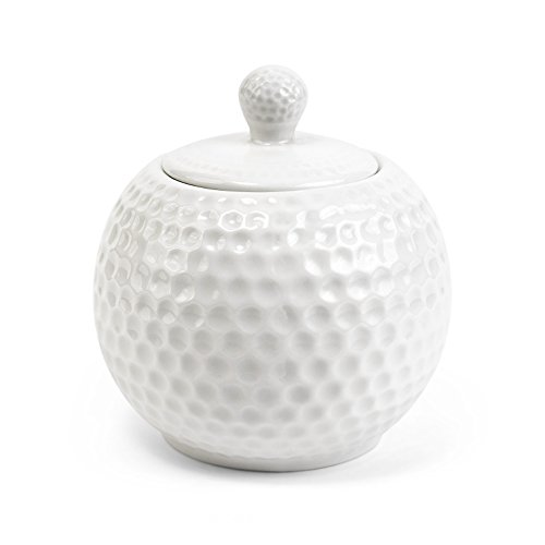 Stenhouse Golf Series 200 W Porcelain Sugar Bowl with (Garden Sugar Bowl Lid)