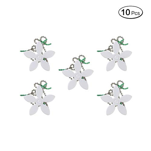 LANGING 10Pcs Sink Bath Hair Cleaner Hair Collector Catcher Strainer Unblocker Remover Chain Hook for Shower Baths