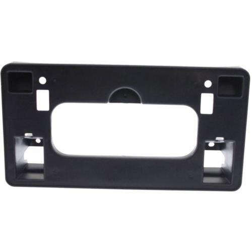 Make Auto Parts Manufacturing - CIVIC 06-08 FRONT LICENSE PLATE BRACKET, Textured (Black), Sedan - HO1068110