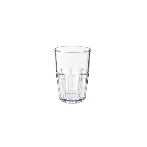 G.E.T. 9914-1-CL Bahama SAN Plastic 14 Oz Beverage Tumbler - 72 / CS