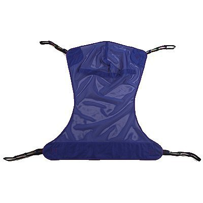 Proactive Medical Full Body Mesh Patient Lift Sling without Commode, XX-Large (Bariatric)