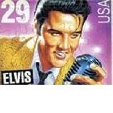 Elvis Presley 29-Cent Postage Stamp Jigsaw Puzzle Postcard