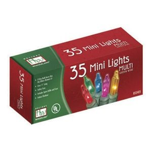 100 Bulb Multi Color Miniature Led Christmas Light Set