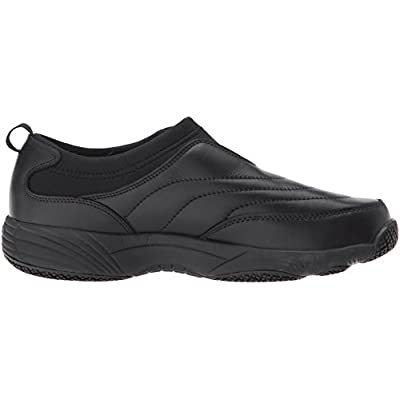 Propet Women's W3851 Wash & Wear Slip-on II Slip Resistant Sneaker Walking Shoe, Sr Black, 11 2X-Wide: Shoes