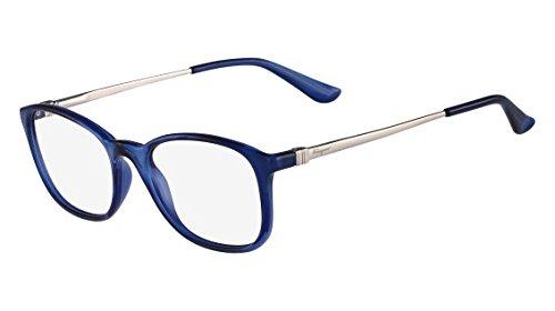 Óculos de Grau Salvatore Ferragamo Sf2662 414 50 Azul  Amazon.com.br ... 0404e355ab