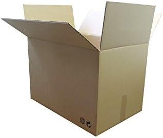 LOTE 5 CAJAS CARTÓN 500x340x310 CARTÓN DOBLE: Amazon.es: Oficina y ...