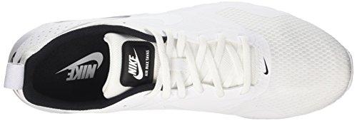 Nike Air Max Tavas, Scarpe Sportive Indoor Uomo Bianco (Blanc/Noir)
