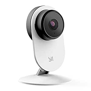 YI Home Camera 3, AI-Powered 1080p Security Surveillance System Indoor House Cam with Human Detection, Wi-Fi, Two-Way Audio, App for Baby Nanny Pet Dog Monitor - UK Plug Included