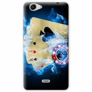 Amazon.com: Case Carcasa Wiko Pulp 4G Casino - - Poker ...