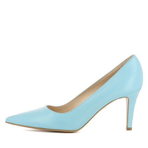 Evita Escarpins Clair Jessica Shoes Bleu Femme Cuir Lisse PaP7qwr