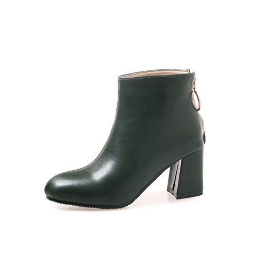 Corto DEDE y Botas green Americana Europea Botas Mujer Mujer Sandalette 5Zvx7v
