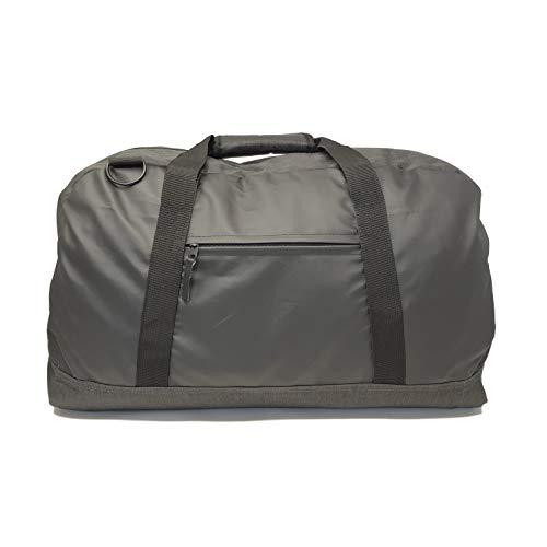 Calihuna Sports Gym Bag Travel Duffel Bag Weekender Bag, Black for Men and Women