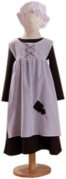 Ursula - Disfraz de criada para niña, talla 3-5 años (UUG3): Amazon ...