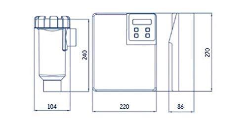 Electrólisis salina Innowater - SMC20 - 20 g/h: Amazon.es: Jardín