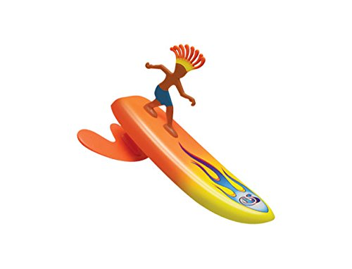 Surfer Dudes Wave Powered Mini-Surfer and Surfboard Toy - Sumatra Sam