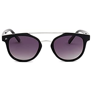 "PRIVÉ REVAUX ICON Collection ""The Churchill"" Handcrafted Designer Polarized Round Sunglasses For Men & Women (Black)"
