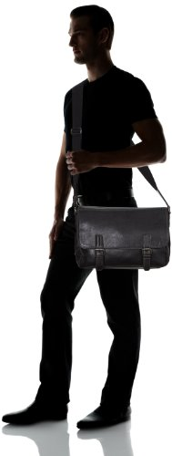 de JAN 11634 Acc unisex Überschlagtasche Tom 29 braun Bolsa Tailor Negro mensajero q4FnEwx8
