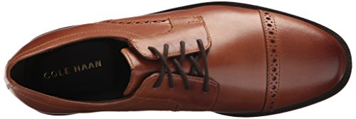 buy cheap shopping online Cole Haan Men's Ross Dustin Cap Brogue Oxford British Tan factory outlet online pay with paypal for sale sale pictures DUrAaiSI