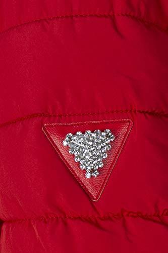 Jacket Con Lorelie Wap20 Corto W84l35 Piumino Cappuccio Rosso Guess Donna qfxp6w6v