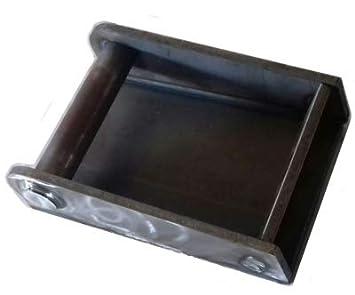 Adapterahmen fü r Bagger MS01 / MS03 und MS08 mit aufgeschweiß ter Platte passend zu Lehnhoff Schnellwechselsystem (MS03 mit aufgeschweiß ter Platte) Joma-Tech GmbH
