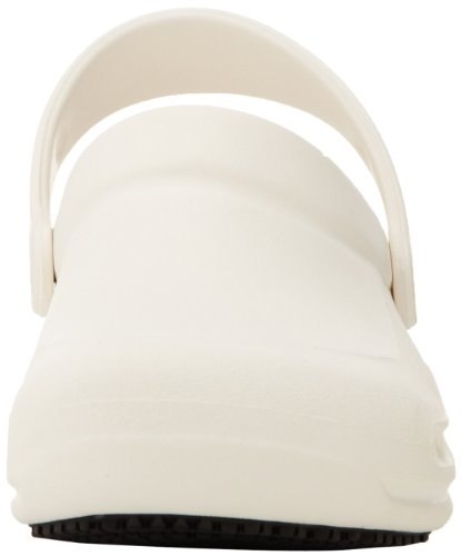 Crocs Bistro - Zuecos con forro y correa unisex, Blanco (White)