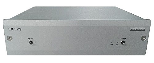 Musical Fidelity LX-LPS Phono Stage Pre-Amp with 2 Turntable Inputs (Silver) by Musical Fidelity