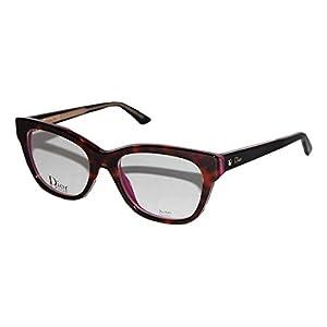 Christian Dior Montaigne 6 G90 Havana Crystal Lilac eyeglasses