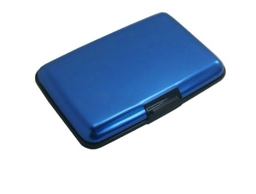 MULTI CREDIT CARD CASE BY DESIGNSK (Blue)