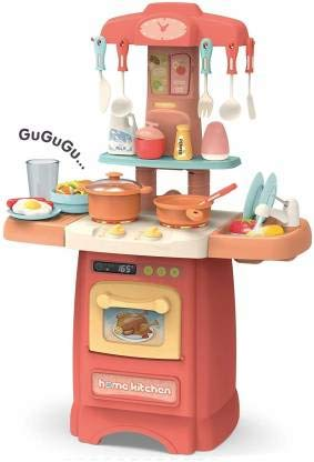 Buy Zenith Toys Latest Electronic Kitchen Set Toy With Music And Lights Online At Low Prices In India Amazon In