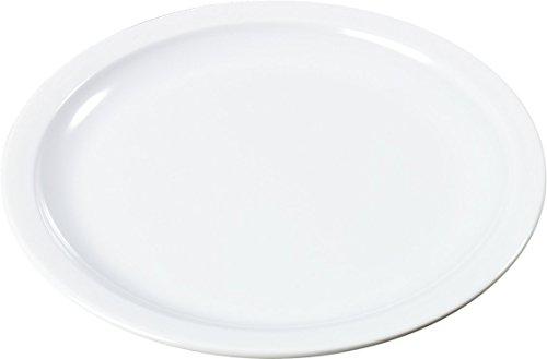 Carlisle KL20502 Kingline Melamine Bread and Butter Plate, 0.59 x 5.47