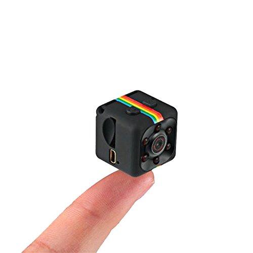 autolover Mini cámara, Sq11Cámara de 1080p Full HD DVR para coche (portátil con visión nocturna, cámara de acción...