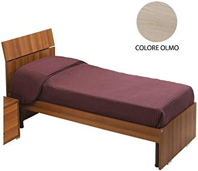 we point Letto Singolo per Camera Colore Olmo Cm 200x85xh 98