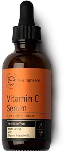 Vitamin C Facial Serum - Acne Scar Removal, Anti Aging Moisturizer, Eve Hansen, 2 ounces