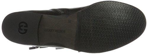 Gerry Weber Sena 07 - Botas estilo motero Mujer Schwarz (Schwarz (100))