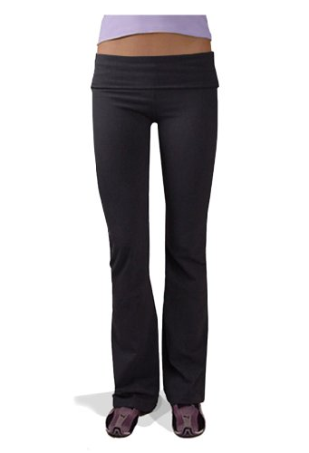 Hardtail Roll Down Boot Leg Yoga Pants (x-Small) -