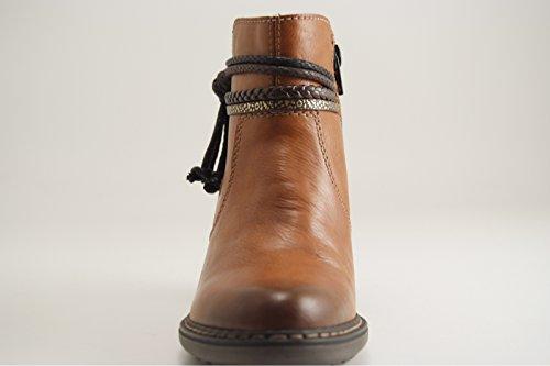 Rieker - Zapatillas altas mujer marrón