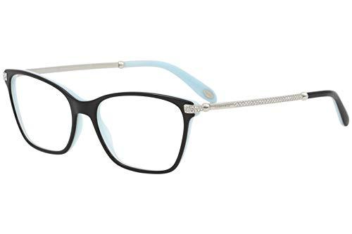 Tiffany & Co Eyeglasses TF2158B TF/2158/B 8055 Black/Blue Optical Frame 54mm (52 16 140 Brille)