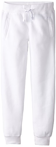 - Southpole Boys' Big Active Basic Jogger Fleece Pants, White, Medium / 10-12