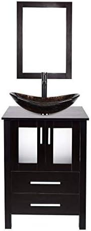 Modern 24 inch Bathroom Vanity MDF Floor Cabinet