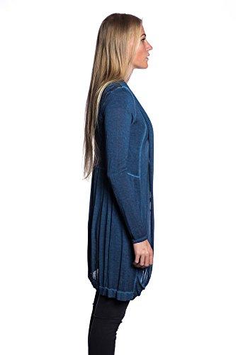Cardigan Trendy blu lunghe Abbino con estiva 5223 1 trasparenti schienale donna Made Primavera autunno Art in delicati da pizzo in bambino da colori vendita 5222 da Italy Diversi Transizione maniche TTq45rF