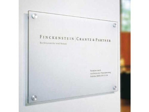 Cristallo Wandschild DIN A3-2 Scheiben CR2923
