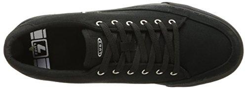 Lugz Mens Court Sneaker De Mode Classique Noir