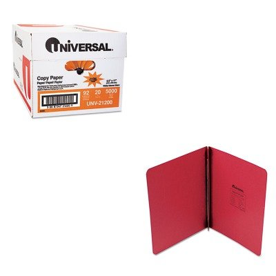 KITUNV21200UNV80579 - Value Kit - Universal Pressboard Report Cover (UNV80579) and Universal Copy Paper (UNV21200)